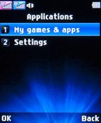 Приложения LG A155