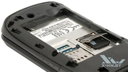 microSD-карта в LG A258