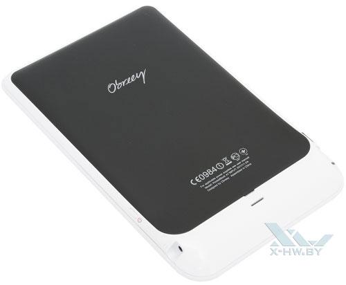 PocketBook A7. Вид сзади