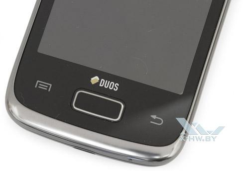Кнопки управления Samsung Galaxy Y Duos