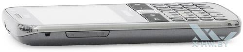 Левый торец Samsung Galaxy Y Pro Duos