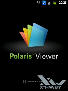 Polaris Viewer на Samsung Galaxy Y Duos. Рис. 1