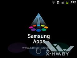 Samsung Apps на Samsung Galaxy Y Pro Duos. Рис. 1