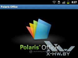 Polaris Office на Samsung Galaxy Y Pro Duos. Рис. 1