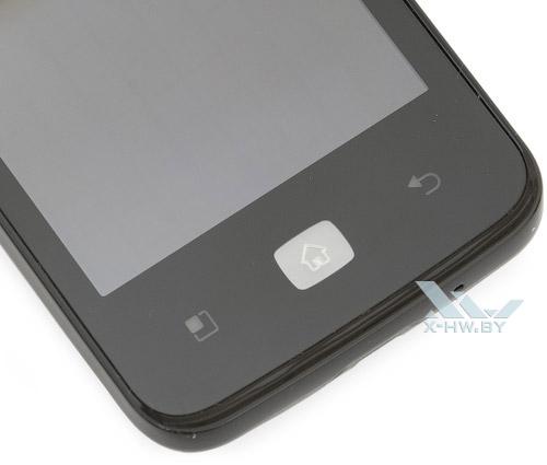 Кнопки LG Optimus Hub E510