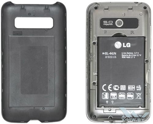 Аккумулятор LG Optimus Hub E510