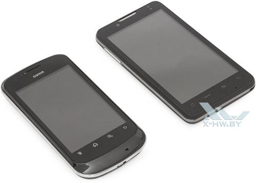 Gigabyte GSmart G1345 и Highscreen Yummy Duo