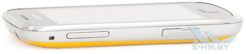 Левый торец Samsung Galaxy Mini 2