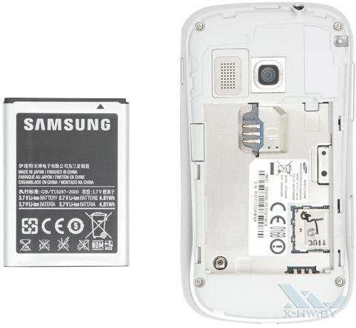 Разъем для SIM-карты на Samsung Galaxy Mini 2