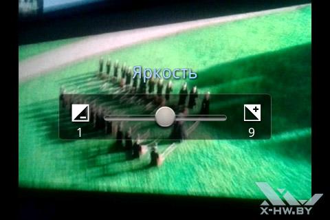 Яркость съемки Samsung Galaxy Mini 2
