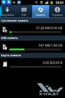 Диспетчер задач на Samsung Galaxy Mini 2. Рис. 3