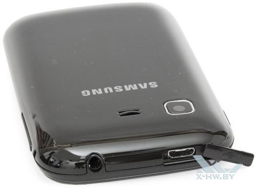 Разъем microUSB на Samsung Galaxy Pocket