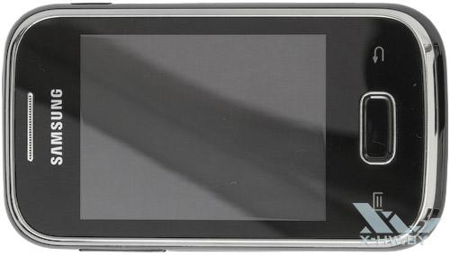 Samsung Galaxy Pocket. Вид сверху