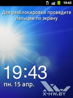 Панель уведомления на Samsung Galaxy Pocket