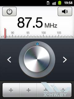 FM-радио на Samsung Galaxy Pocket
