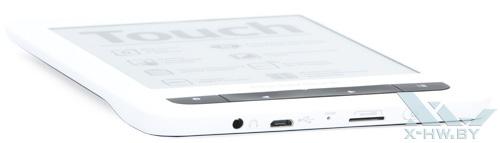 Нижний торец PocketBook Touch