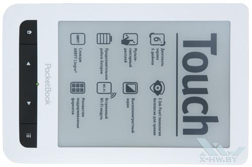 PocketBook Touch. Вид сверху