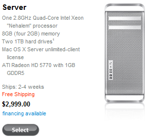 Apple Mac Pro Server