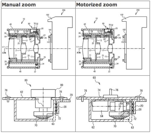 Nikon запатентовала объективы с двойным зумом