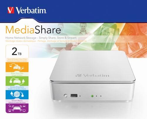 Verbatim MediaShare HDD