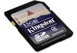 SDHC Kingston 32 Гбайта