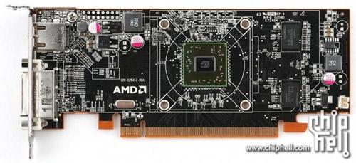 AMD Radeon HD 6300. Со снятым радиатором