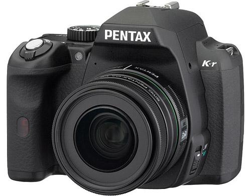 Pentax K-r. Вид сверху
