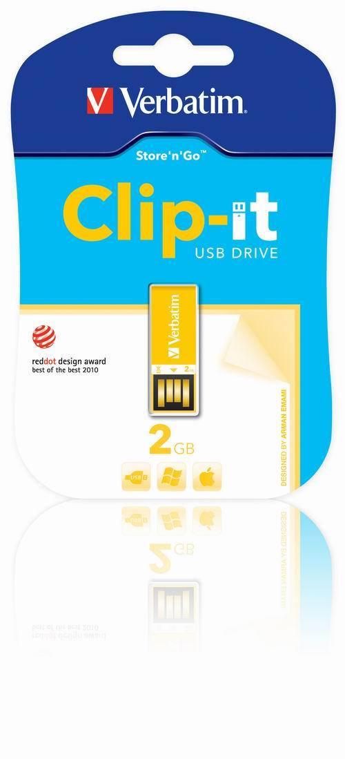Verbatim Clip-it USB Drive: