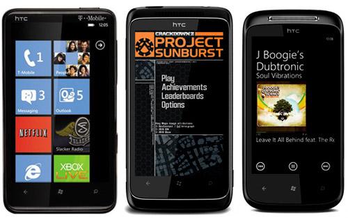 HTC HD7, 7 Trophy, 7 Mozart