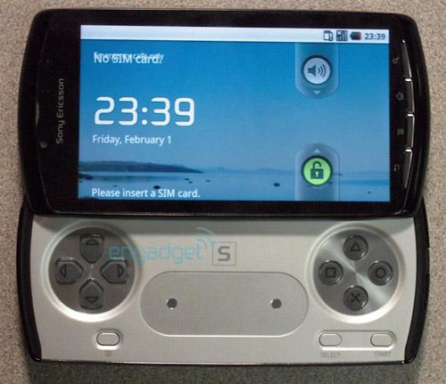 PlayStation Phone: крутой дисплей и игры за $10