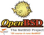 Логотип OpenBSD и NetBSD