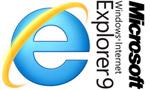 Логотип Microsoft Internet Explorer 9