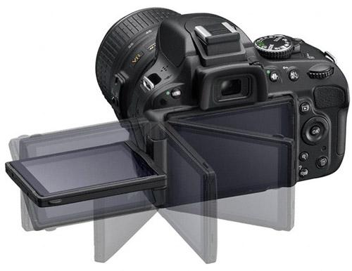 Поворотный экран Nikon D5100