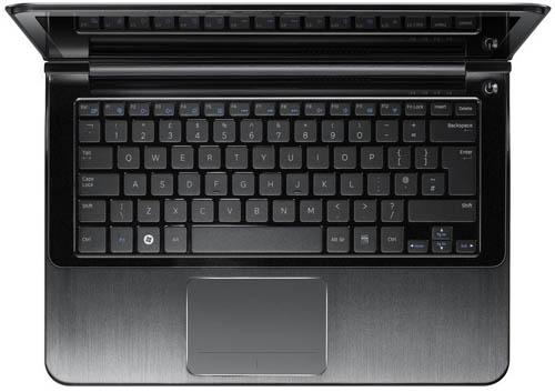 Ноутбуки Samsung 9 серии. Вид сверху