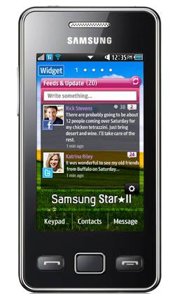 тачфон Samsung Star II