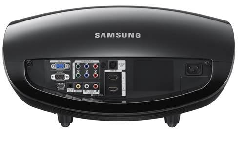 Проектор SP-А8000. Вид сзади