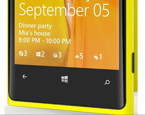 Экран блокировки Windows Phone 8