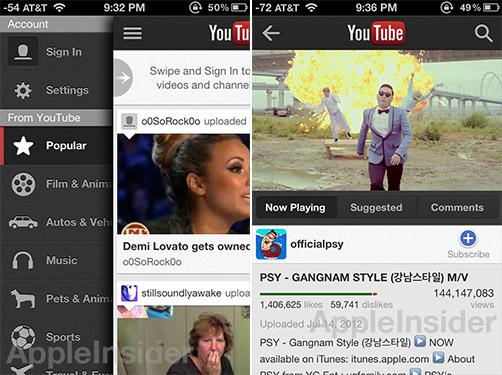 Google выпустила отдельный клиент YouTube для iPhone