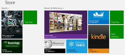 В Windows Store 2500 программ