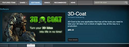 На Steam началась продажа программ
