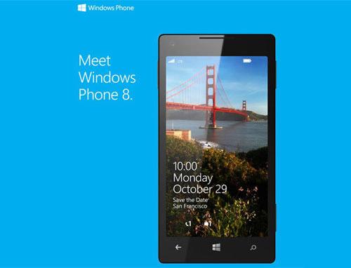 Windows Phone 8 официально запустят 29 октября