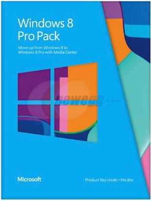 Коробка Windows 8 Pro Pack