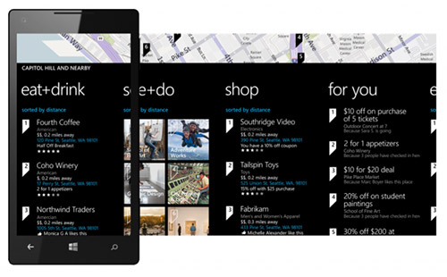 Local Scout в Windows Phone 8