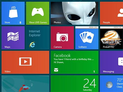 Компания Microsoft украла идею плиточного интерфейса