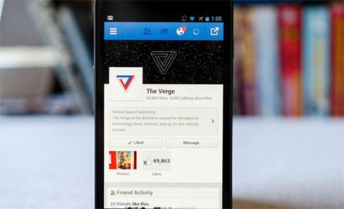 Facebook ускорила работу своего клиента для Android