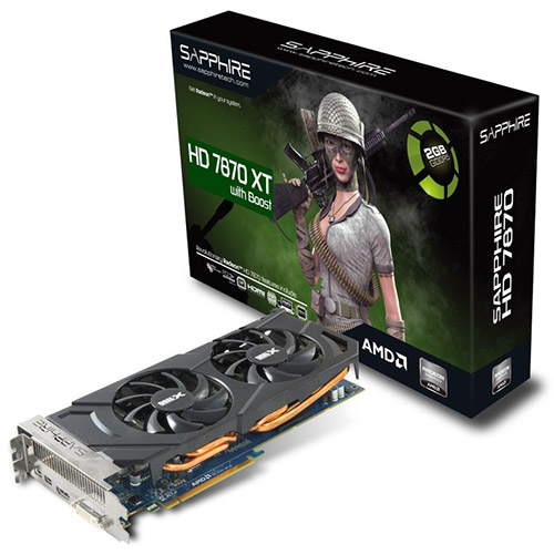 Sapphire HD 7870 XT with Boost