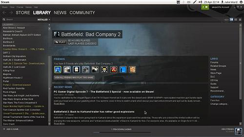 Steam для Linux