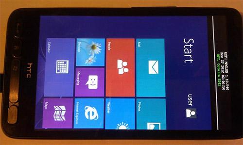 Windows RT на HTC HD2