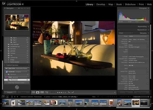 Adobe выпустила Lightroom 4