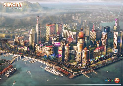 Новый SimCity выпустят в 2013 году